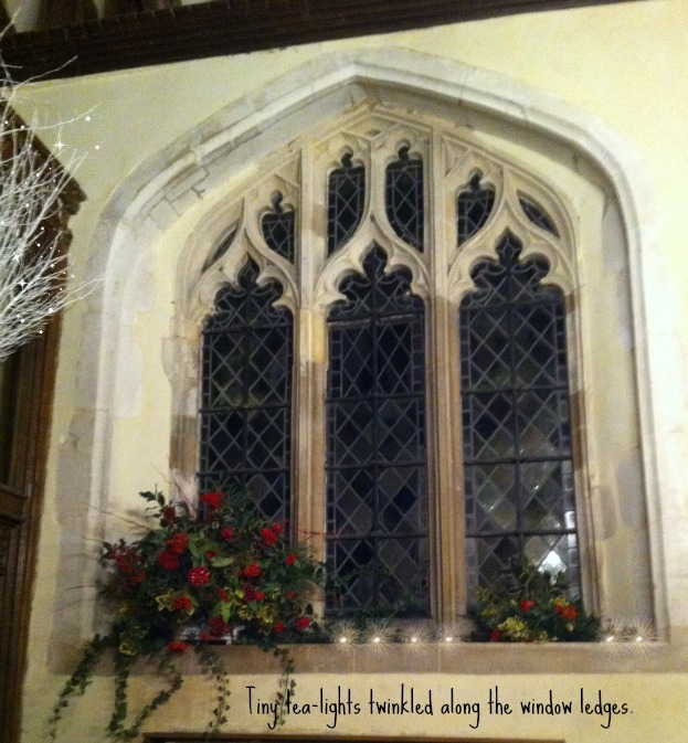 Christmas Church window