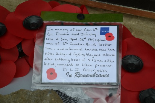 in remembrance wreathfrom DLI Assoc