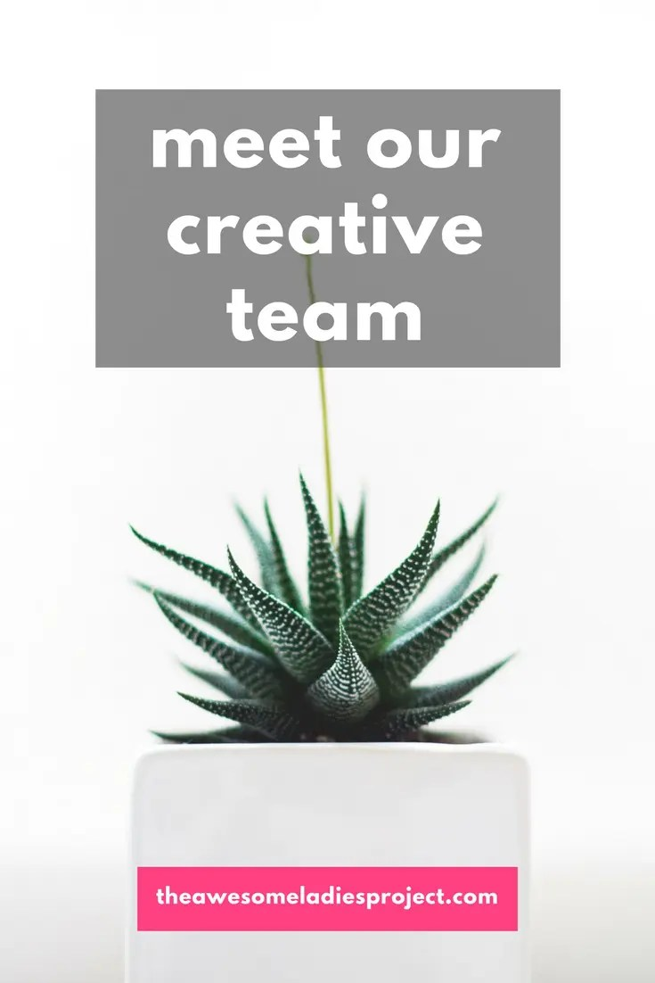 meet our creative team