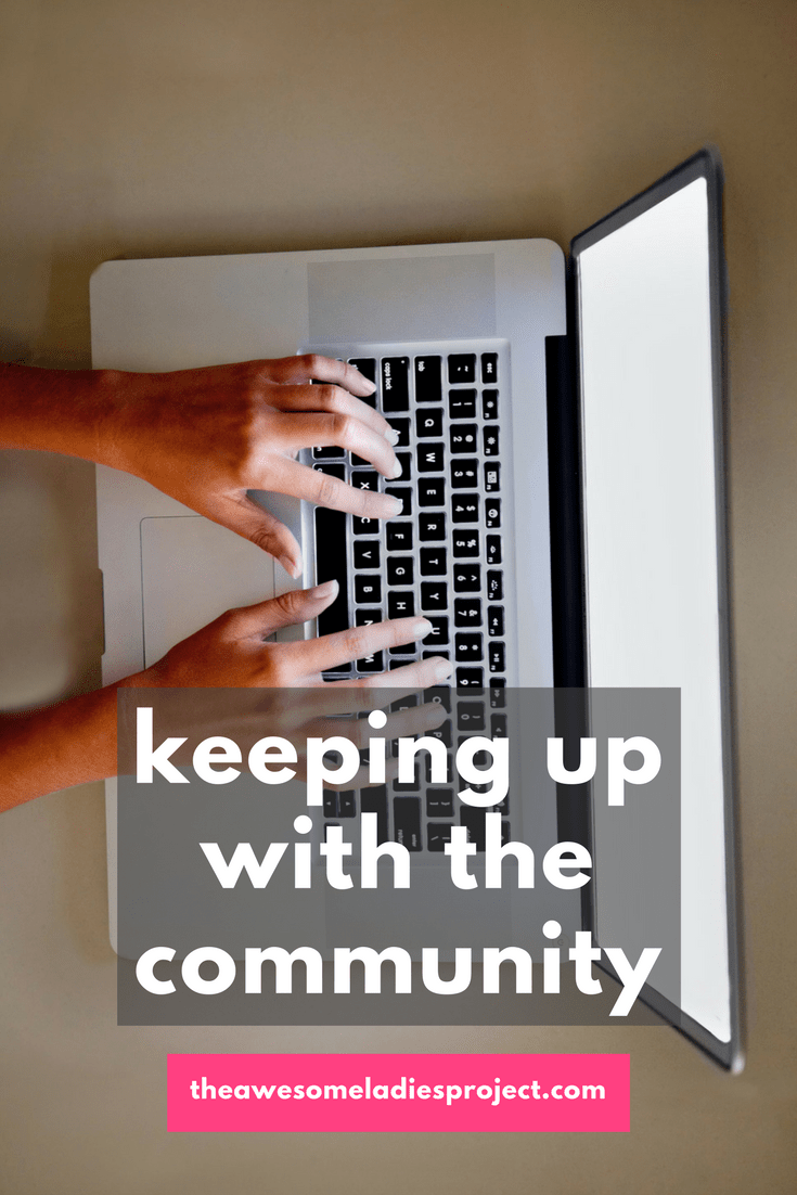 keeping up with the Awesome Ladies Community