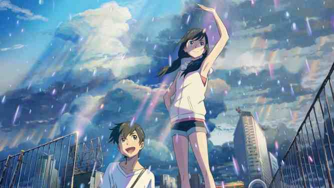 Makoto Shinkai weathering with you