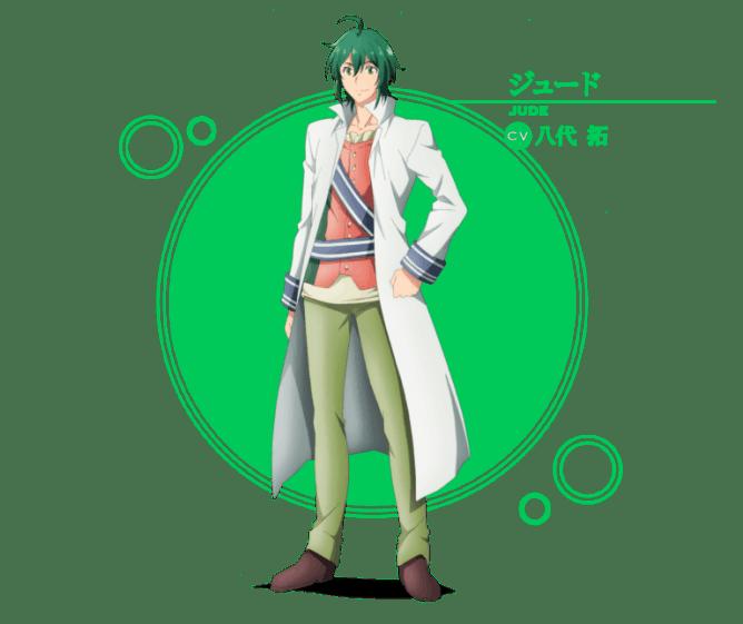 The Saint's Magic Power Character Designs