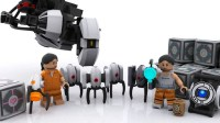 LEGO Portal 2 Concept - The Awesomer