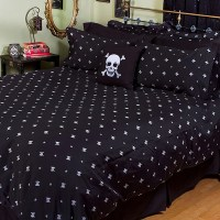 Skull & Crossbones Bedding - The Awesomer