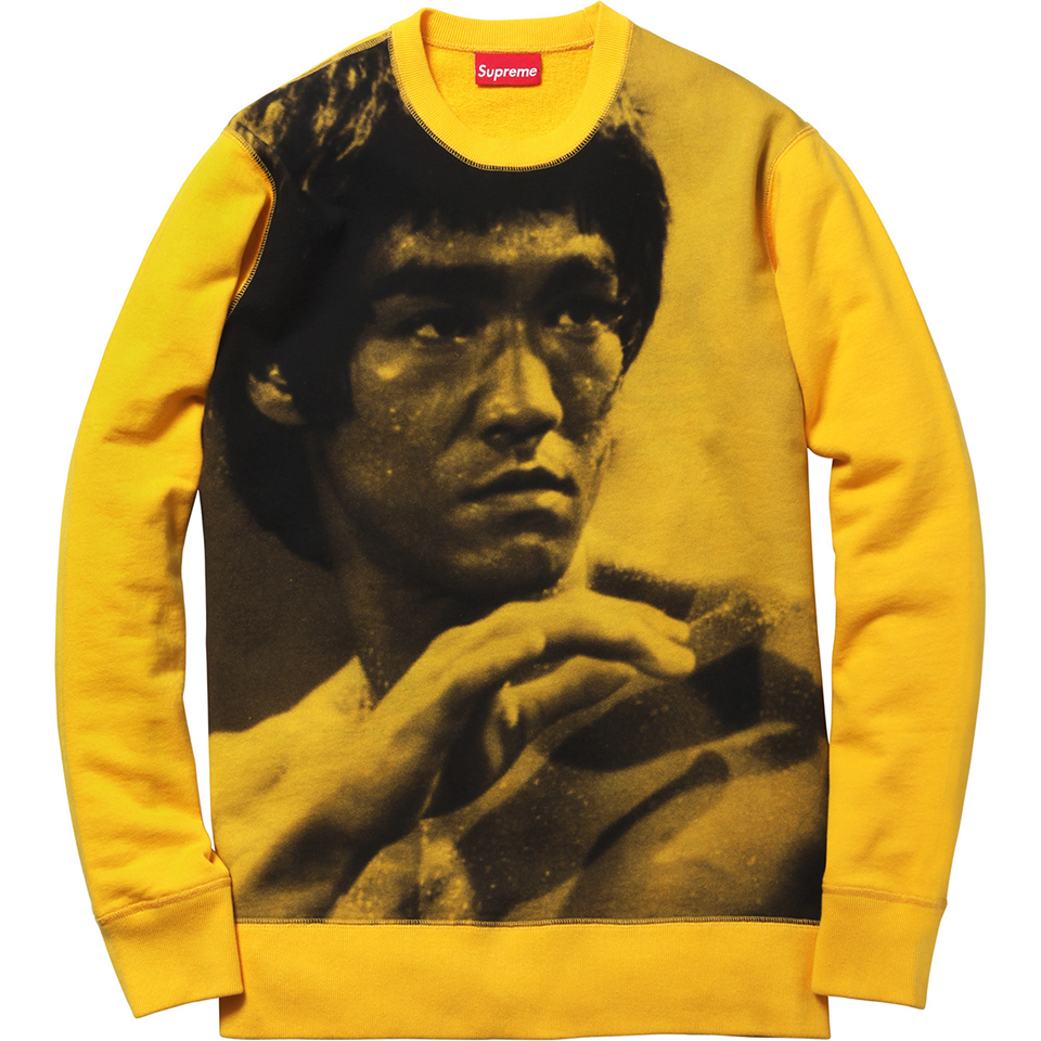 Supreme Bruce Lee Crewneck