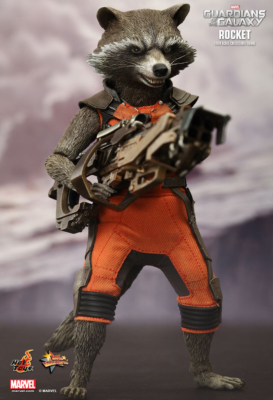 Hot Toys Groot  Rocket Raccoon  The Awesomer