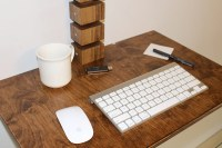 Wall-Mounted Standing Desk - The Awesomer