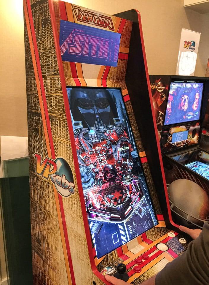 Vertigo Virtual PinballArcade Cabinet