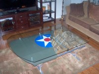 Airplane Wing Tables - The Awesomer