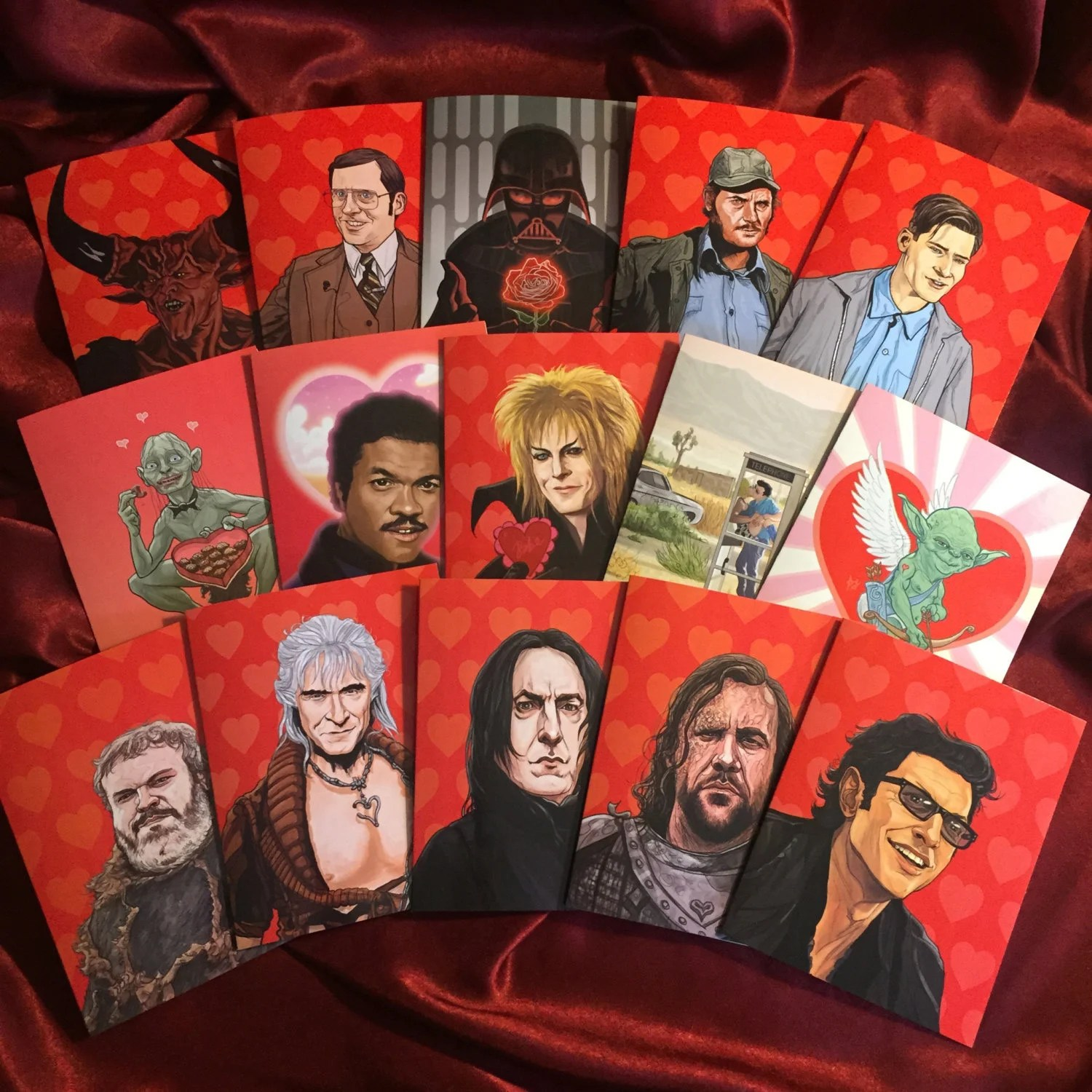 Pop Culture Valentines 2017 The Awesomer