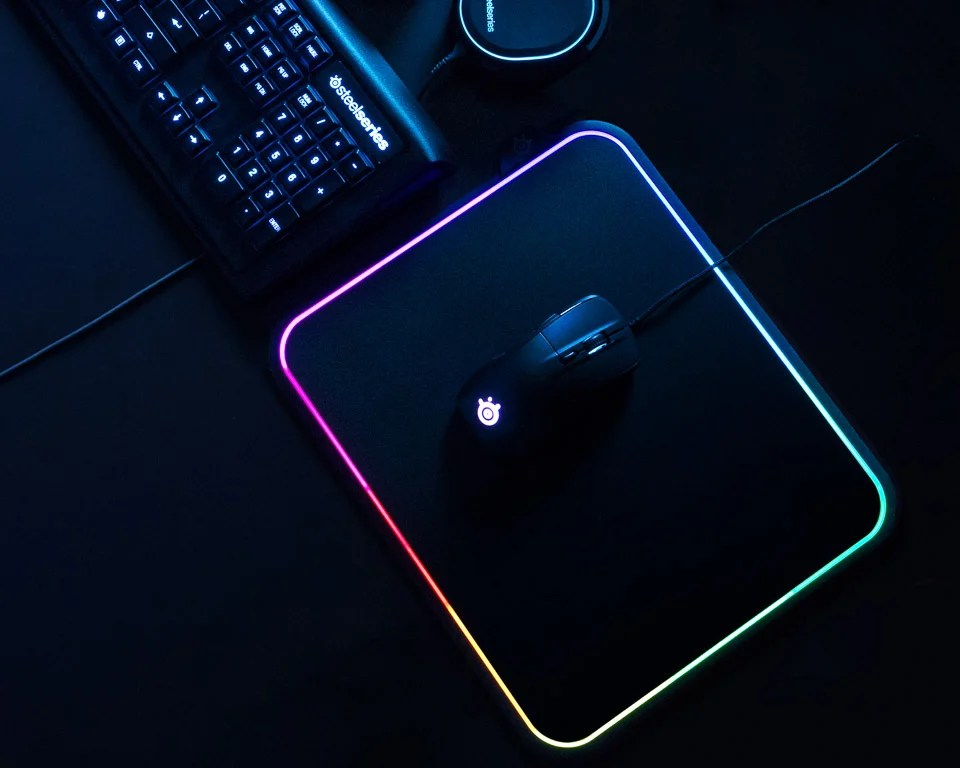 SteelSeries QcK Prism Mouse Pad - The Awesomer