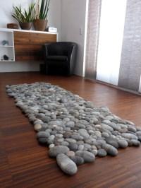 Felt Stone Rugs - The Awesomer