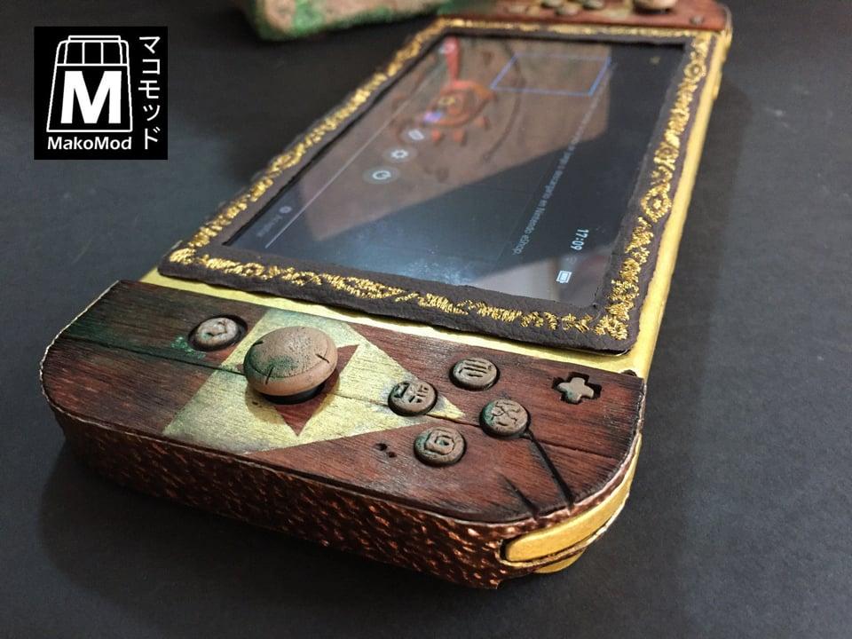 Custom Sheikah Slate Switch