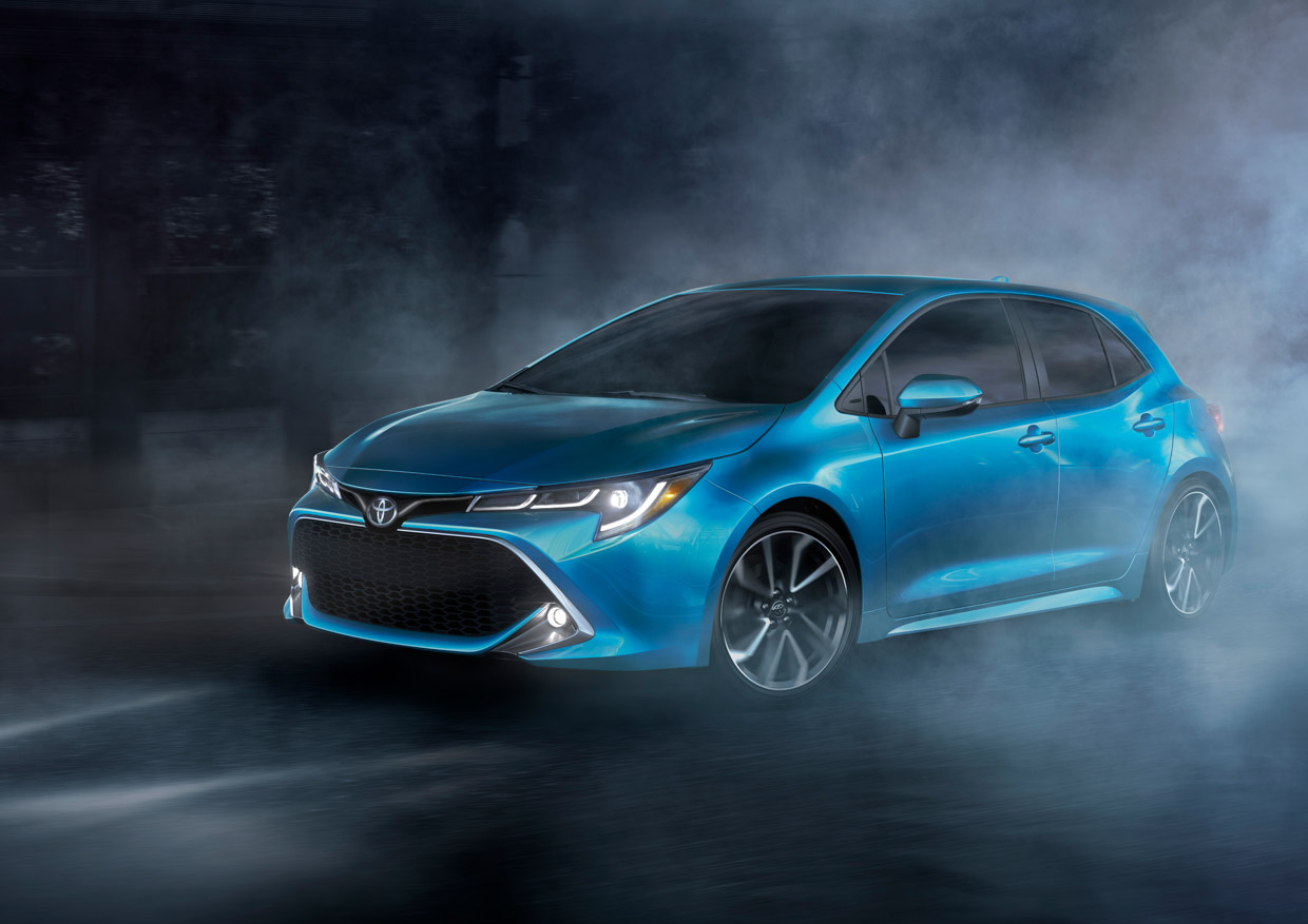 The Toyota Corolla Hatchback Is Back For 2019, And It
