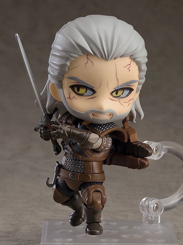 The Cute Nendoroid Geralt Figure Comes With A Bathtub And