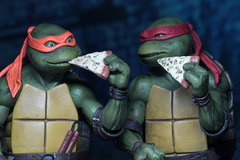 Check Out NECAs Teenage Mutant Ninja Turtles 1990 7 Action Figures