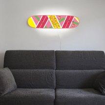 Lamp Skateboard Deck Mimics