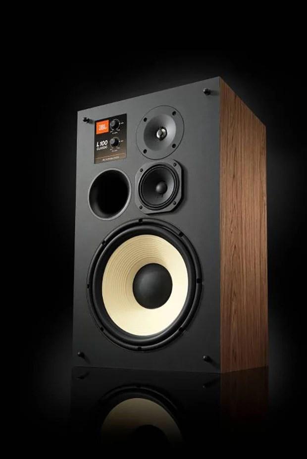 JBL Modernizes its Legendary L100 Bookshelf Speakers as