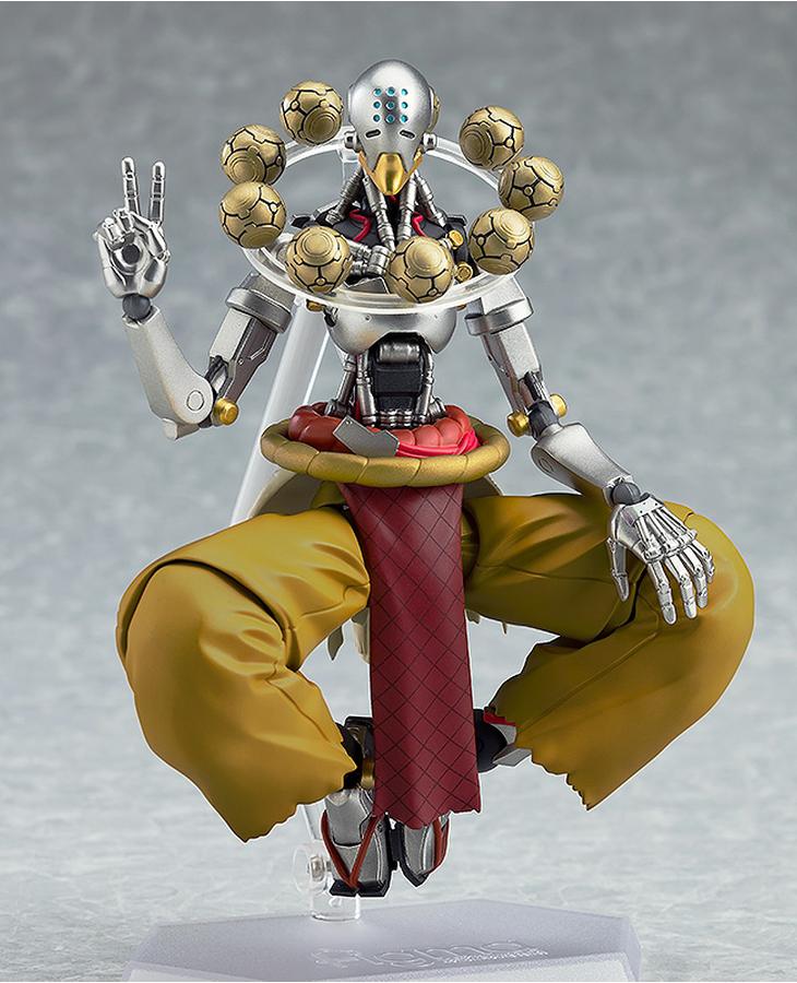 Overwatchs Robot Monk Zenyatta Gets His Figma Action Figure