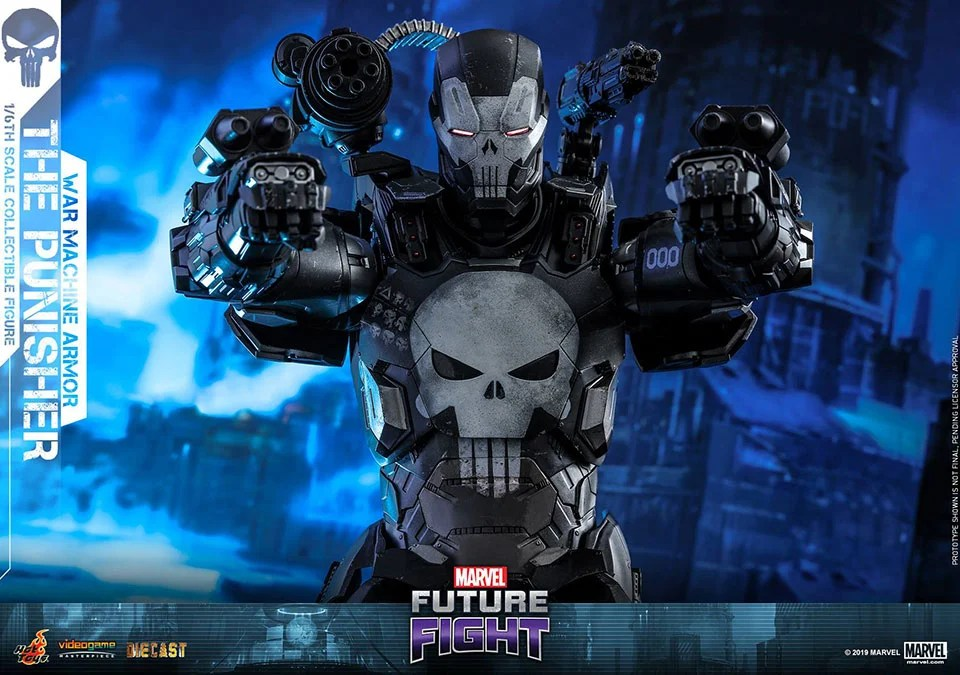 Check out Hot Toys The Punisher War Machine Armor Action