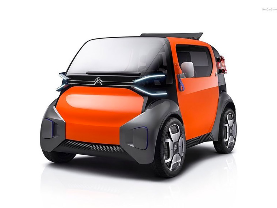 Citron Ami One Concept Is A Tiny Electric City Car