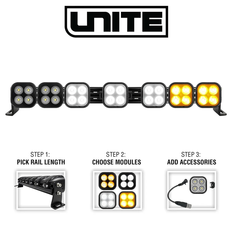 The Modular VisionX Unite Off-road Light Bar Offers