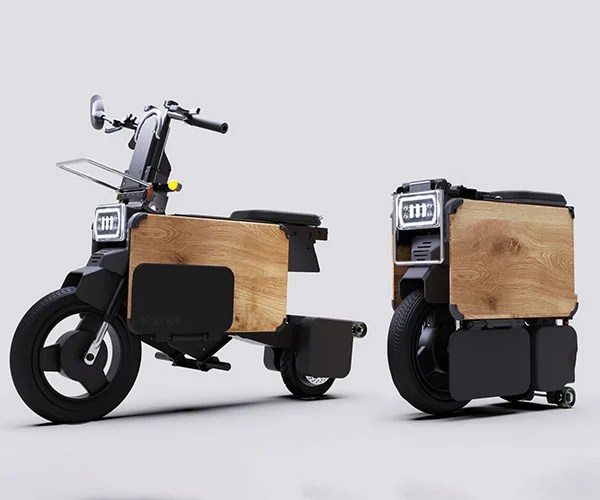Tatamel Folding Electric Moped