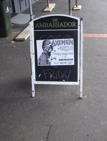 Ambassador Gig, Auckland, March 20 2009