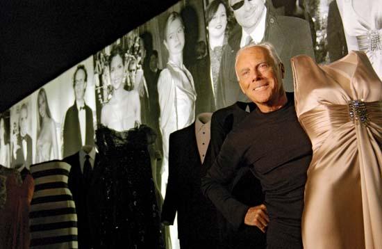 Giorgio Armani Fashion Designer Daily The Azb