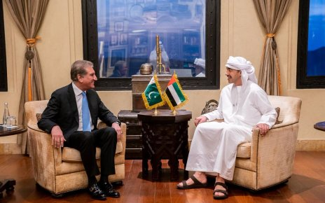 FM Qureshi, UAE Foreign Minister discuss bilateral ties