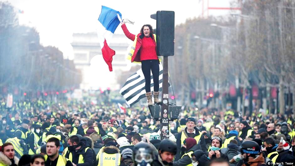 French protesters angry over fuel taxes