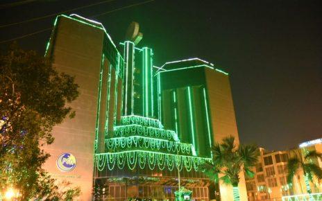 PSO celebrates EId Milad un Nabi by illuminating head quarters