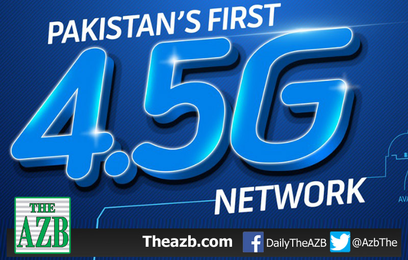 Telenor becomes Pakistan's First 4.5G Network