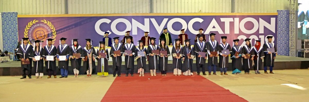 The 8th Annual Convocation KASBIT held at Expo Center, Karachi