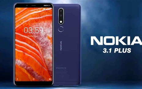 Nokia 3.1 Plus to the Pakistan
