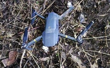 Indian spying quadcopter