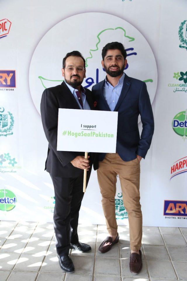 Jerjees Seja and Fahad Ashraf
