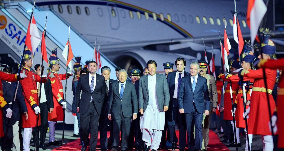 Malaysian Prime Minister receives warm welcome in Pakistan