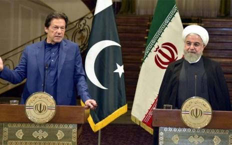 Imran Khan in Iran