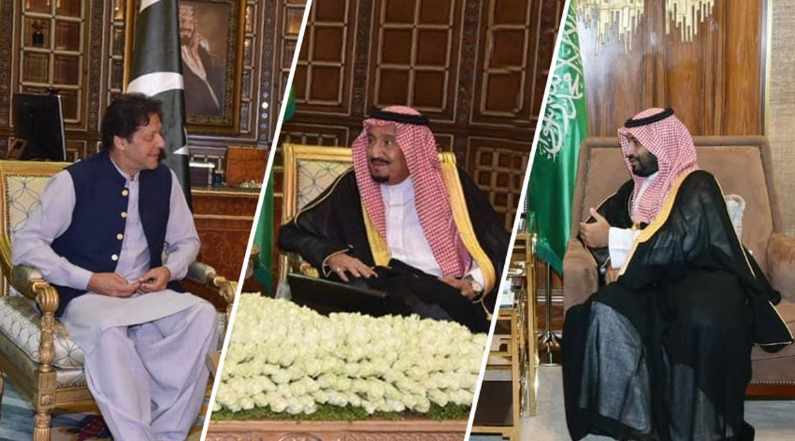 Imran Khan in Saudia Arabia