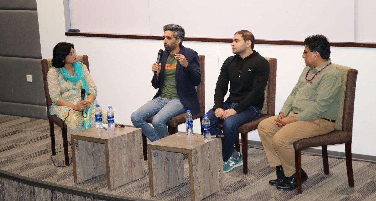 IBA Karachi's Journalism Society Organized a Panel Discussion (1)