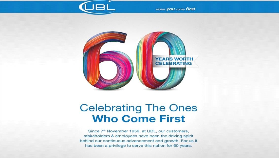 UBL celebrates 60 years
