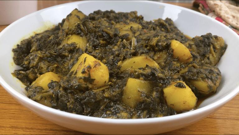 Palak Saag Aloo Recipe | Aloo Palak Recipe | Vegan Potato And Spinach Curry | How To Make Indian Spinach Recipe | How To Make Palak Aloo Recipe | How To Make Spinach And Potato Curry Recipe | How To Make Saag Curry Recipe | Spinach Potato Curry | How To Make Saag Aloo | Spinach Potato Recipe | Alu Palak | How To Make Aloo Palak Curry | Palak Ki Sabzi | Palak Ka Saag Recipe | Vegan Curry Recipe | Vegetarian Curry Recipe | Indian Food |