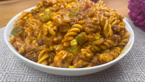Chicken Pasta Recipe | How To Cook Chicken Recipes | How To Make Pasta Dishes | Chicken Fusilli Pasta Recipes | One Pot Pasta With Tomato Sauce | Vegetable Pasta With Chicken | How To Make Chicken Pasta With Sweet Peppers | Vegetable Chicken Pasta Dishes | One Pan Pasta With Sauce | Easy Pasta Dishes | Pasta With Bell Peppers | Best Pasta Dishes | Chicken And Vegetable Recipe | Quick Pasta Recipes With Chicken For Dinner | Chicken And Vegetable Pasta For Dinner Recipe | How To Make Pasta Recipe | One Pot Pasta Recipe | Pasta With Chicken And Vegetables |