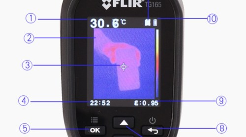 Non Contact Imaging Thermometer-6457-29000