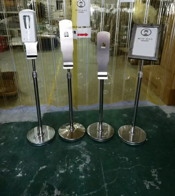 Sanitizer Floor Stand-6257