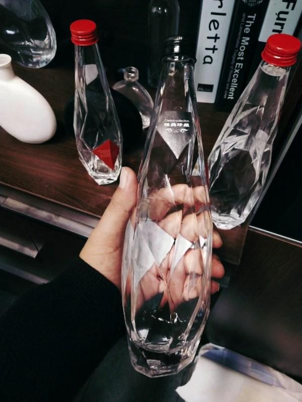 6501-6492-Water Drop Glass Bottle