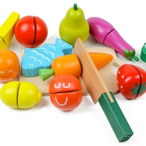Wooden Vegetable Toys