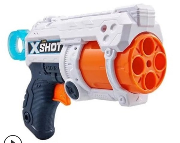 Children ZURU Shot Gun X-SHOT FURY-4 36185
