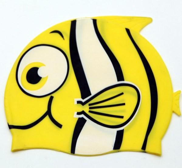 Children Cartoon Swimming Cap